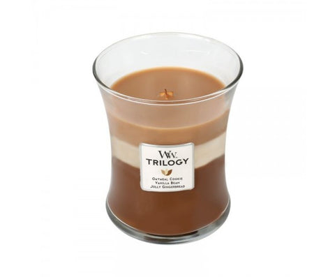 Spiced Confection Trilogy Medium WoodWick Candle