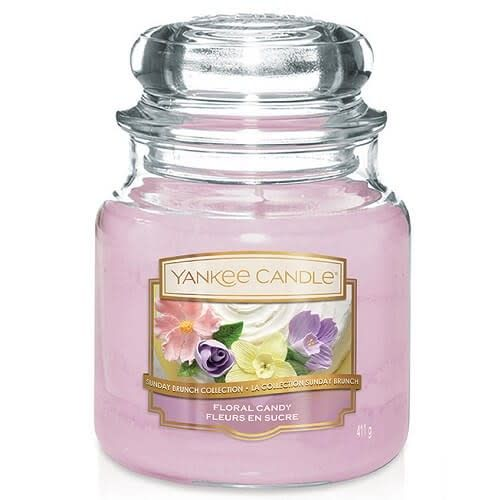 Yankee Candle Floral Candy Medium Jar Geurkaars