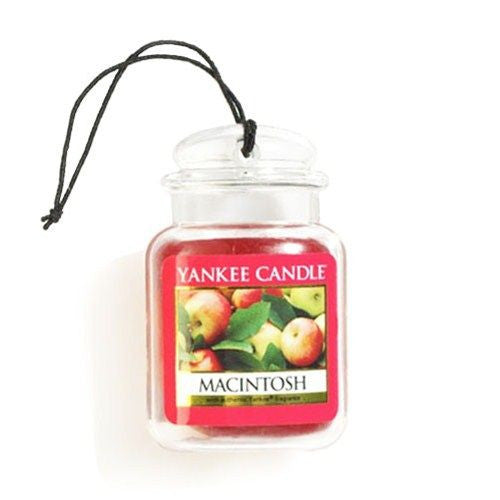 Yankee Candle Macintosh Car Jar Ultimate Luchtverfrisser