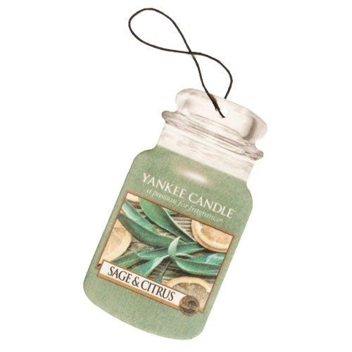 Yankee Candle Sage and Citrus Car Jar Classic Luchtverfrisser