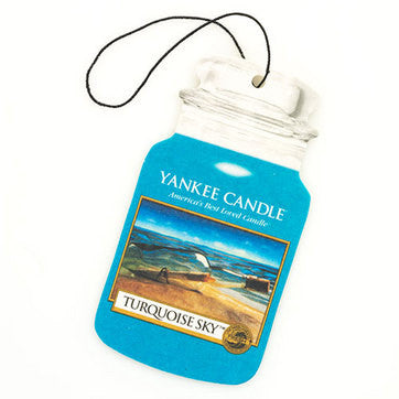 Yankee Candle Turquoise sky Car Jar Classic Luchtverfrisser