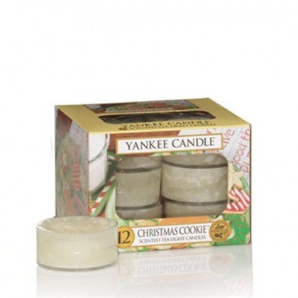 Yankee Candle Christmas Cookie Tea Lights Geurkaarsen