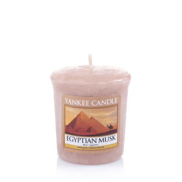 Yankee Candle Egyptian Musk Votive Geurkaars