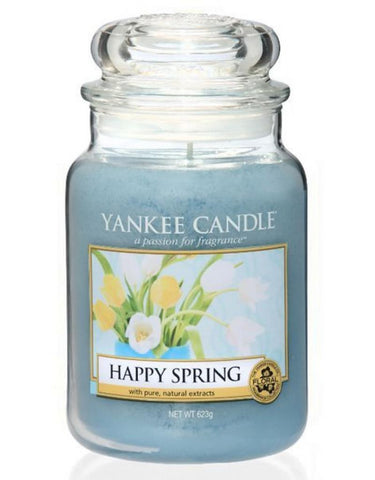 Happy Spring Large Jar
