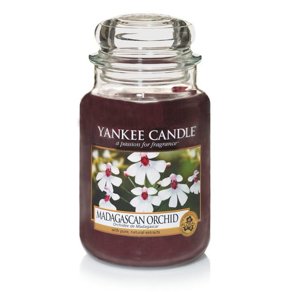 Yankee Candle Madagascan Orchid Large Jar Geurkaars