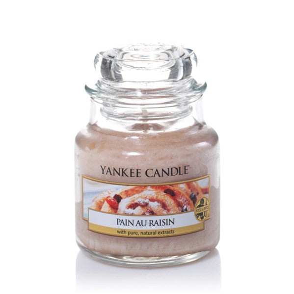 Yankee Candle Pain au Raisin Small Jar Geurkaars