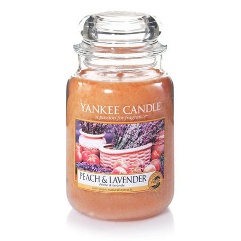 Peach & Lavender Large Jar