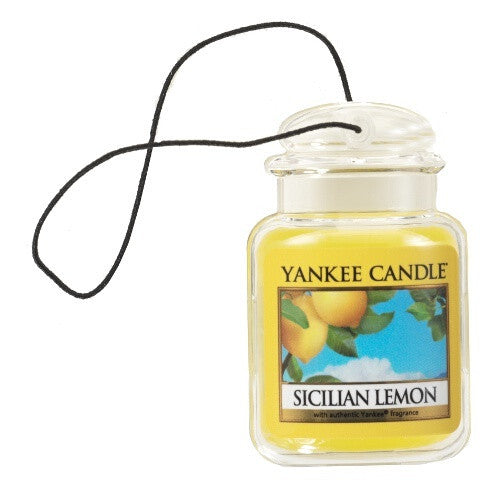 Yankee Candle Sicilian Lemon Car Jar Ultimate Luchtverfrisser