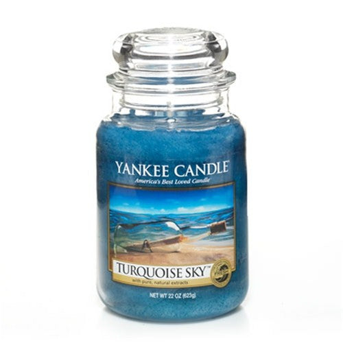 Yankee Candle Turquoise Sky Large Jar Geurkaars