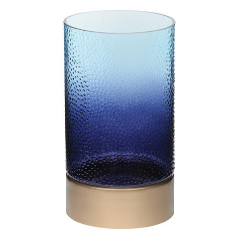 Twilight Dusk Glass Hurricane Jar Holder