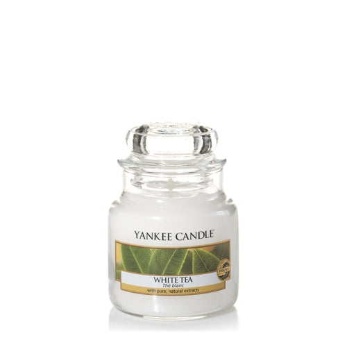 Yankee Candle White Tea Small Jar Geurkaars