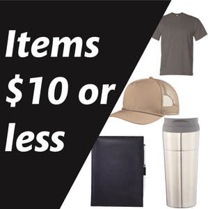 Items $10 & Under
