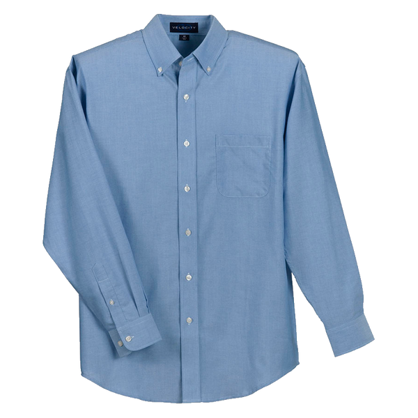 D1447M Mens Velocity Repel & Release Oxford Shirt
