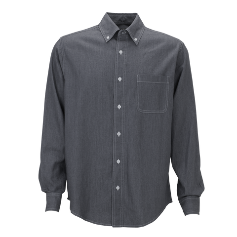 D1733MT  Mens Tall Hudson Denim Shirt