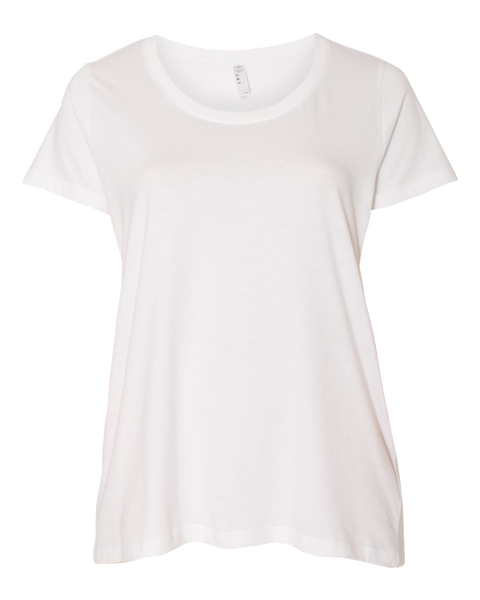 D1755 Curvy Collection WoMens Scoopneck Tee