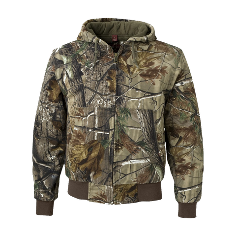 D1542MT Mens Hooded Camouflage Tall Jacket
