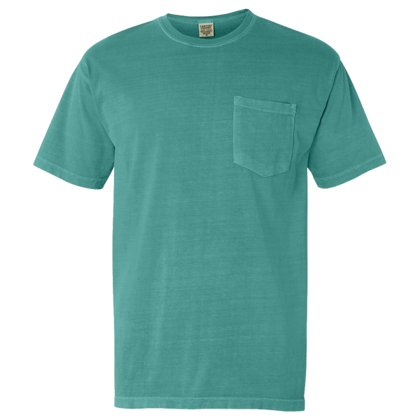 D1535 Pigment Dyed Pocket Tee