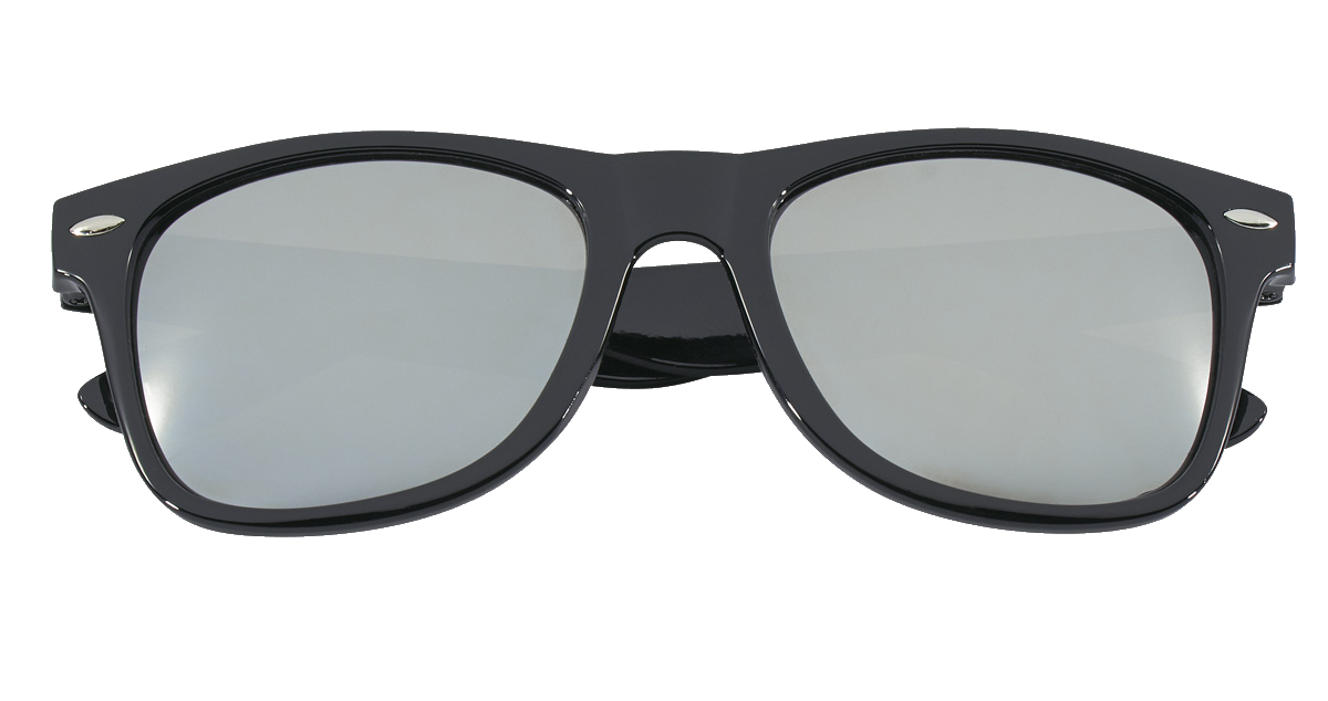 D1257 Mirrored Malibu Sunglasses
