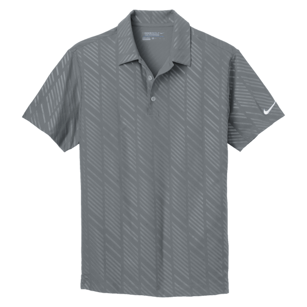 D1502M Mens Golf Dri-FIT Embossed Polo