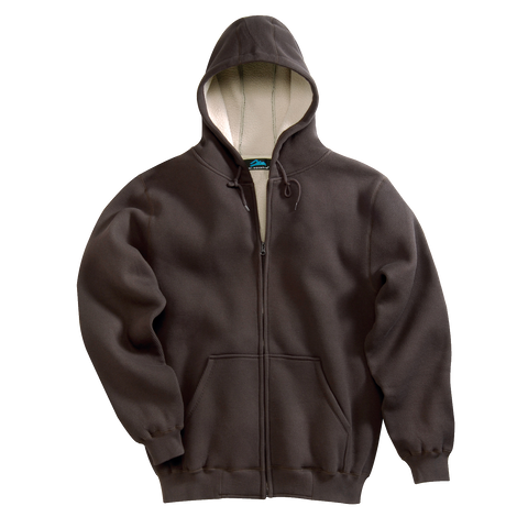D1338 Mens Marshall Sherpa Lined Hooded Sweatshirt