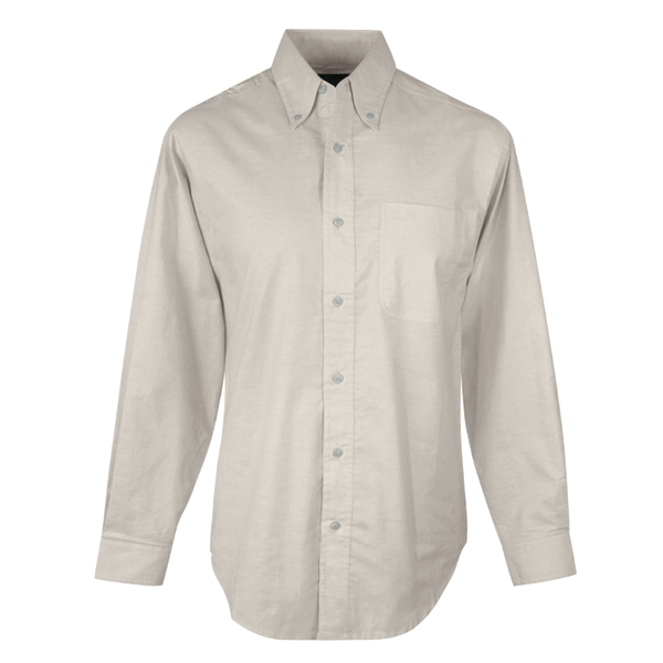 D1782M  Mens Techno Oxford Button Down Shirt