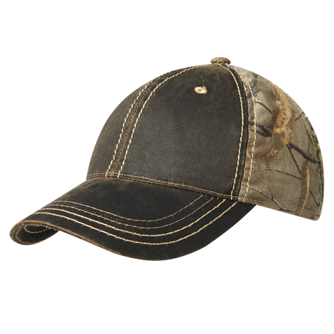 D1432 Pigment-Dyed Camouflage Cap