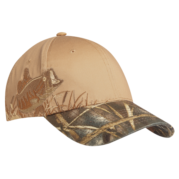 D1431 Embroidered Camouflage Cap