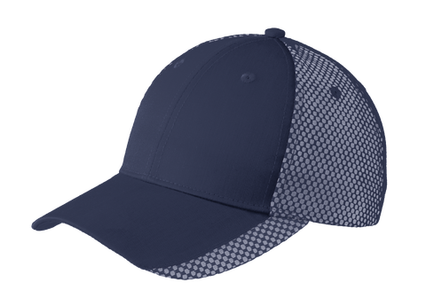 D1661 Two Color Mesh Back Cap