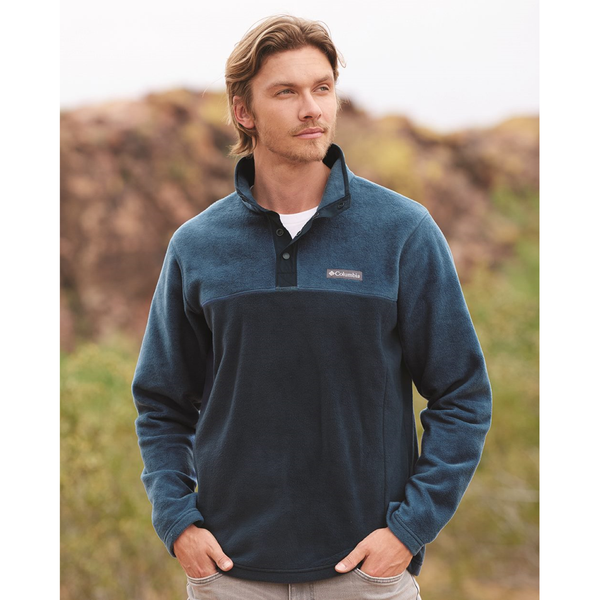D2042M Mens Steens Mountain Half-Snap Pullover