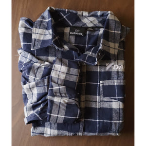 _D1201M Mens Yarn-Dyed Long Sleeve Flannel Shirt*