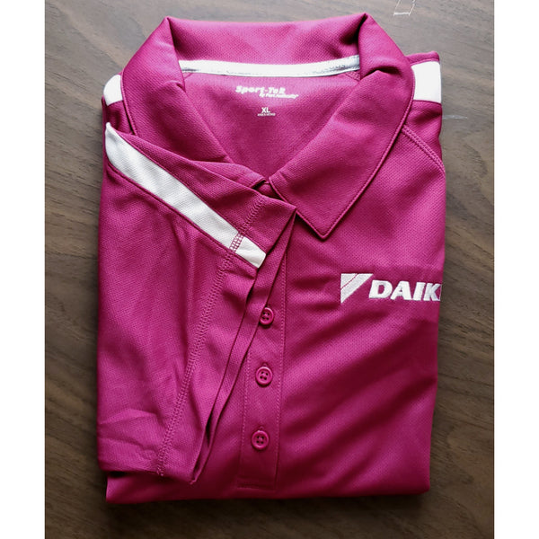 _D1423W Ladies Micro-Mesh Colorblock Polo*