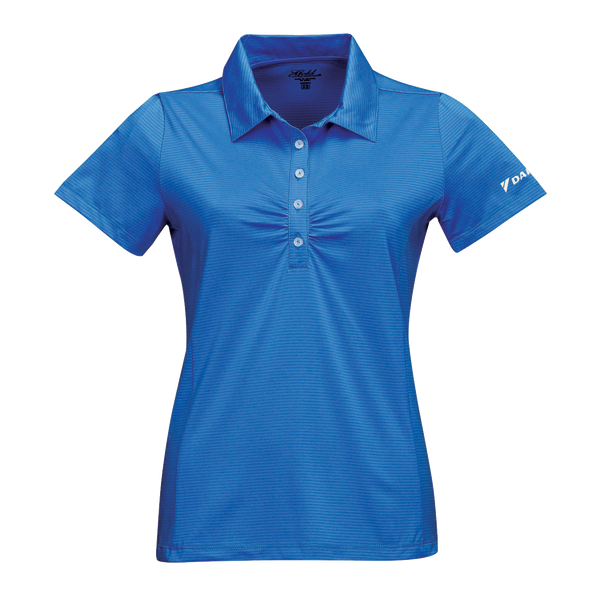_D1710W Ladies Calera Engineered Stripe Polo*