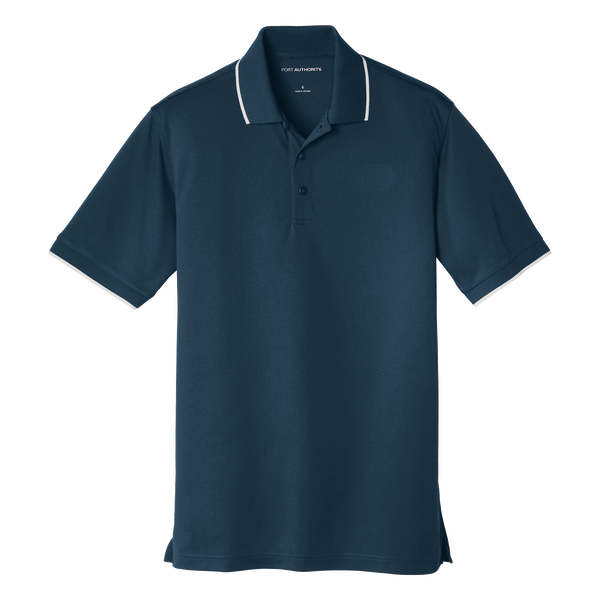 D1863M Mens Dry Zone UV Micro-Mesh Tipped Polo