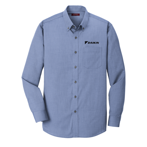 _D1517M Mens Nailhead Non-Iron Shirt*