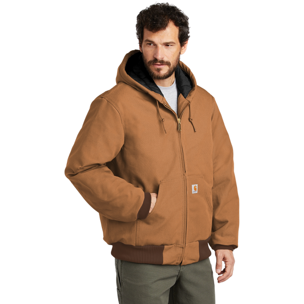 D1940 Mens Flannel-Lined Duck Active Coat