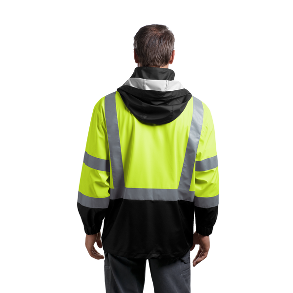 D1972 ANSI 107 Class 3 Safety Windbreaker