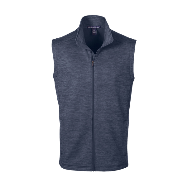 D1780M Mens Newbury Mélange Fleece Vest