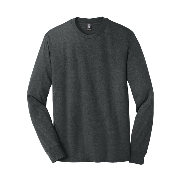 D1823M Mens Perfect Tri Long Sleeve Crew Tee