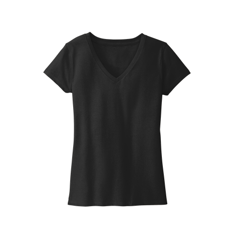 D2068W Ladies Re-Tee V-Neck