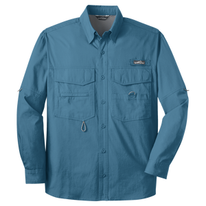 D1518 Mens Long Sleeve Fishing Shirt