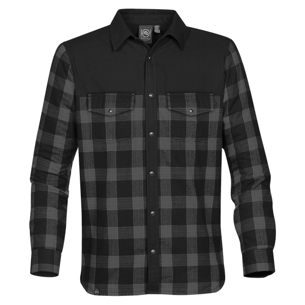 D1925M Mens Logan Thermal Long Sleeve Shirt