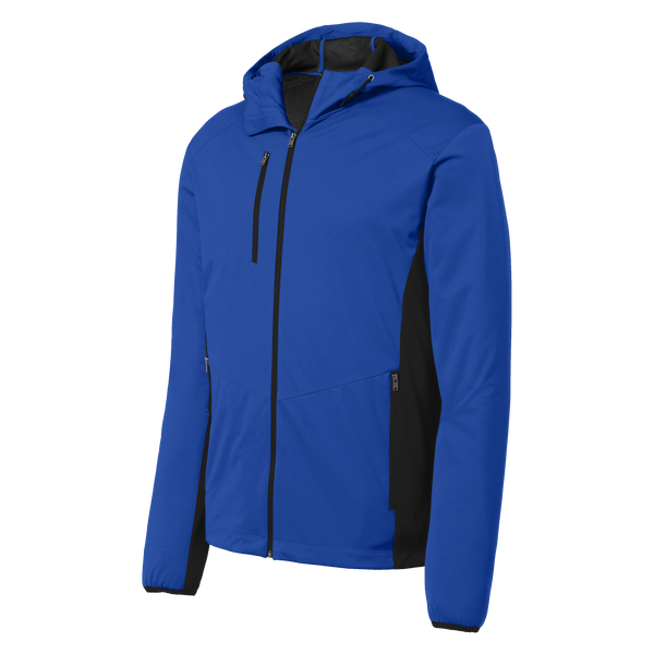 D1740M  Mens Active Hooded Soft Shell Jacket