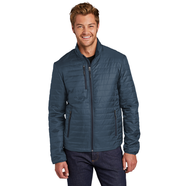D2060M Mens Packable Puffy Jacket