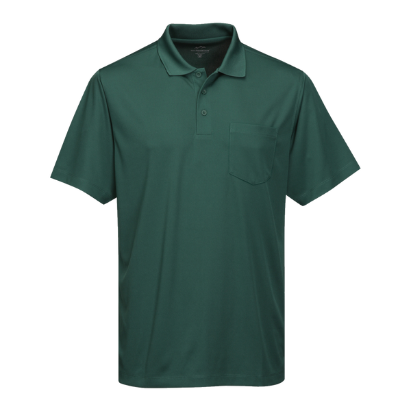 D1638T Mens Tall Vital Pocket Polo