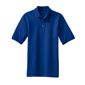 D2022MP Mens Heavyweight Cotton Pique Polo with Pocket