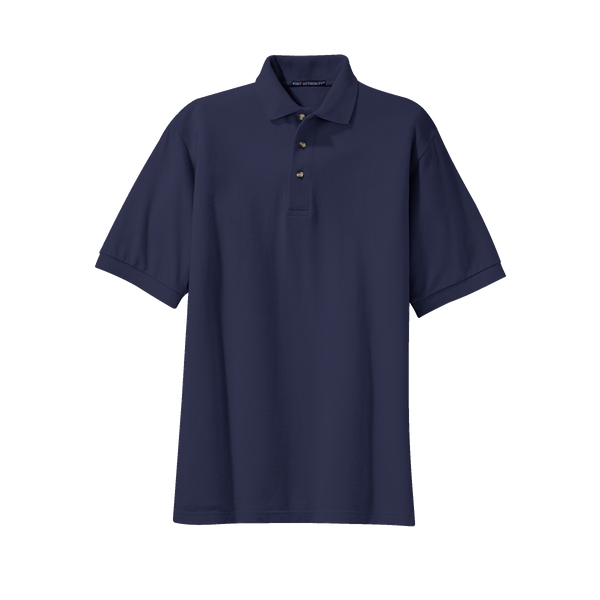 D2022MT Mens Tall Heavyweight Cotton Pique Polo