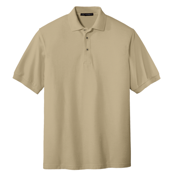 D1318MT Mens Silk Touch Short Sleeve Tall Polo