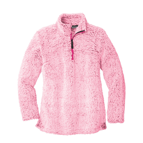 D2062 Ladies Cozy 1/4 Zip Fleece