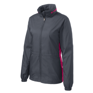 D1586W Ladies Core Colorblock Wind Jacket