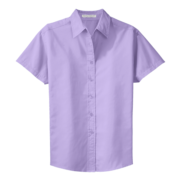 D1310W Ladies Easy Care Short Sleeve Shirt